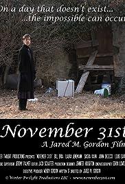 November 31st Poster