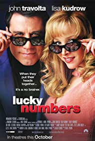 John Travolta and Lisa Kudrow in Lucky Numbers (2000)