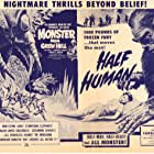 Barbara Turner and Jim Davis in Monster from Green Hell (1957)