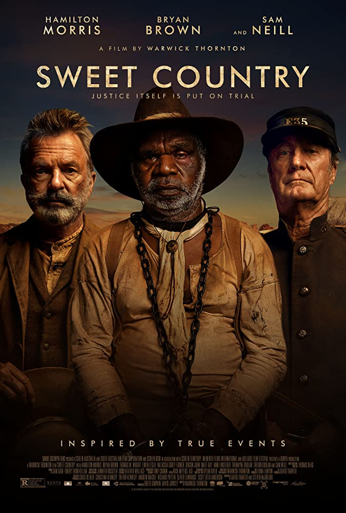 Sam Neill, Bryan Brown, and Hamilton Morris in Sweet Country (2017)
