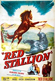 The Red Stallion Poster