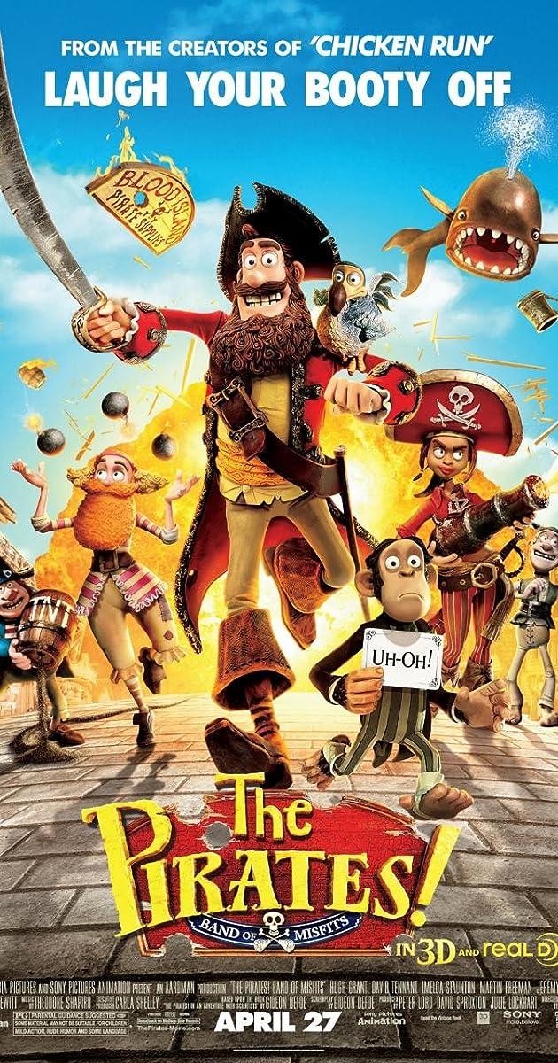 Hoa Vương Hải Tặc - The Pirates Band Of Misfits (2012)