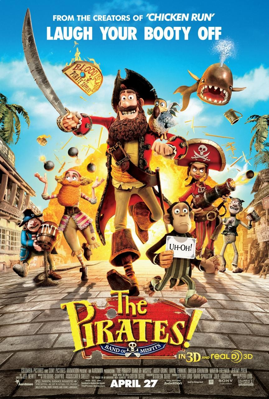 The Pirates! Band of Misfits (2012) BluRay 720p & 1080p