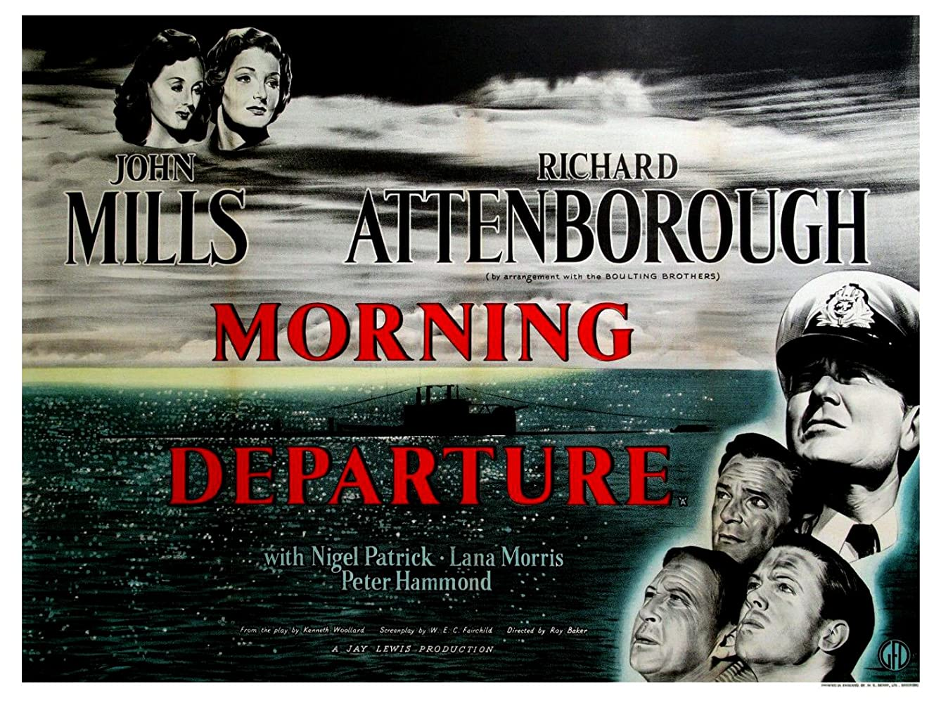 War Movie – Morning Departure (1950)