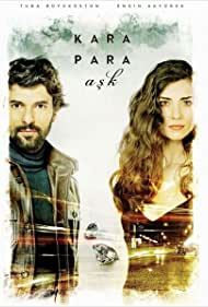 Tuba Büyüküstün and Engin Akyürek in Kara Para Ask (2014)