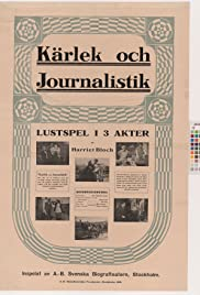 Kärlek och journalistik Poster