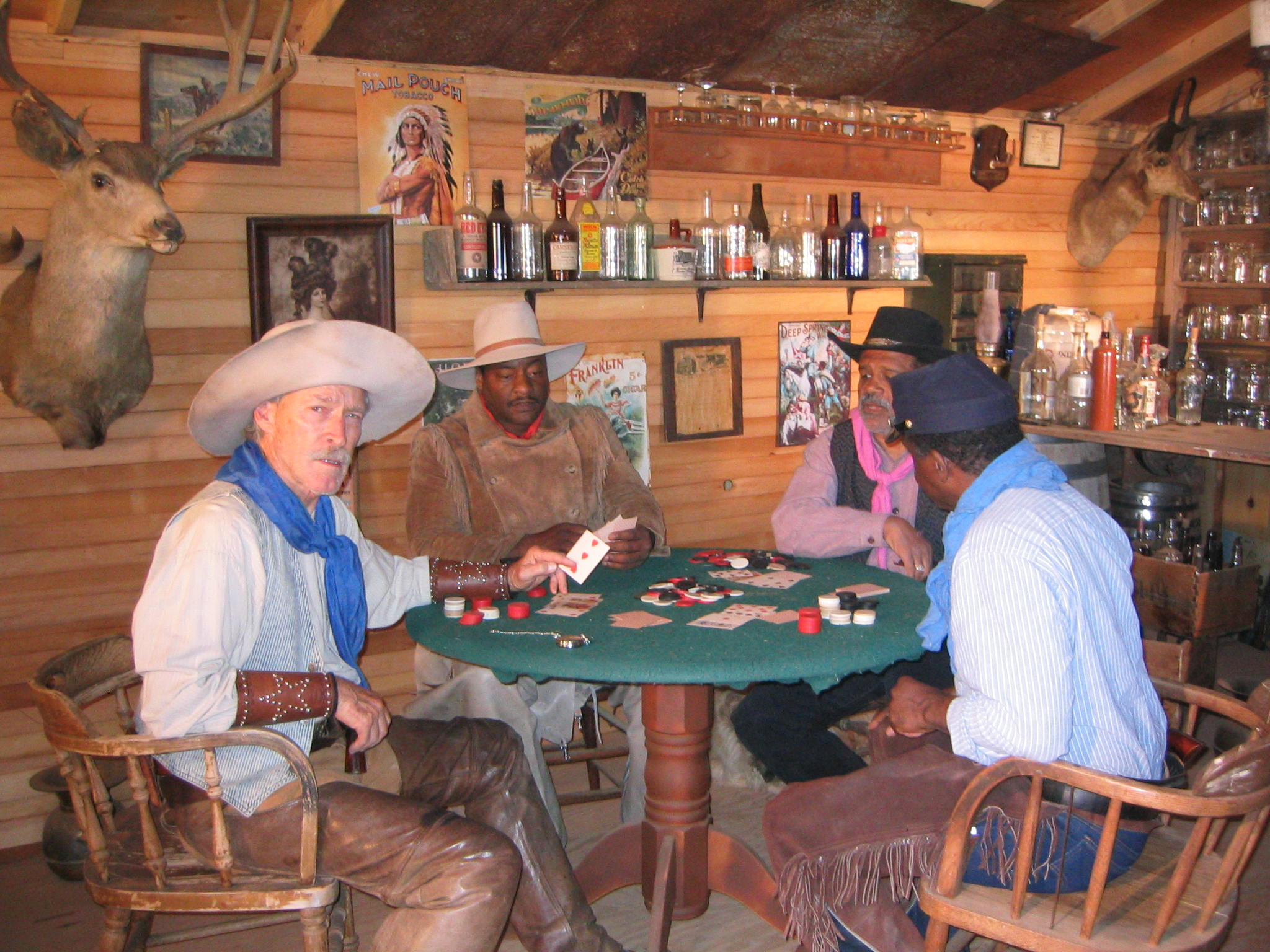 Adam Clark, Patrick Gorman, Ted Lange, and Harrison Page in Players at the Poker Palace (2008)