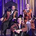 Anna Maria Cianciulli, Michael Elian, and Andrew Burdette in Hamlet/Horatio (2020)