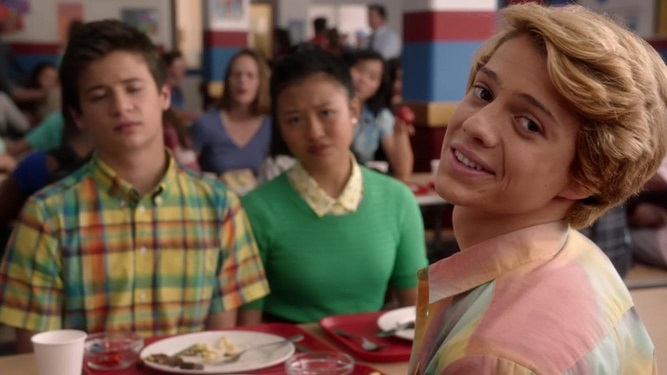 Davis Cleveland, Haley Tju, and Jace Norman in Rufus (2016)