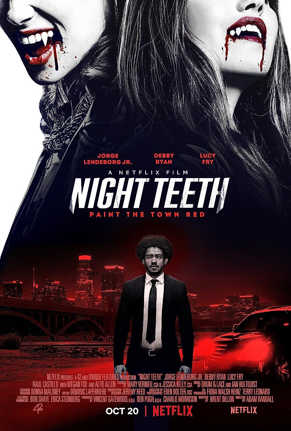 Night Teeth 2021 Hindi ORG Dual Audio 480p NF HDRip MSub 381MB Download