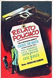 Relato policíaco Poster