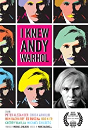 I Knew Andy Warhol Poster
