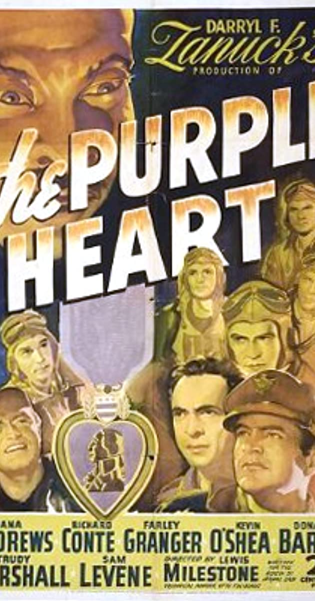 Subtitle of The Purple Heart
