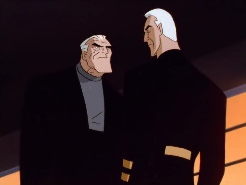 Kevin Conroy and Sherman Howard in Batman Beyond (1999)