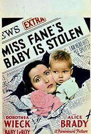 Miss Fane's Baby Is Stolen Poster