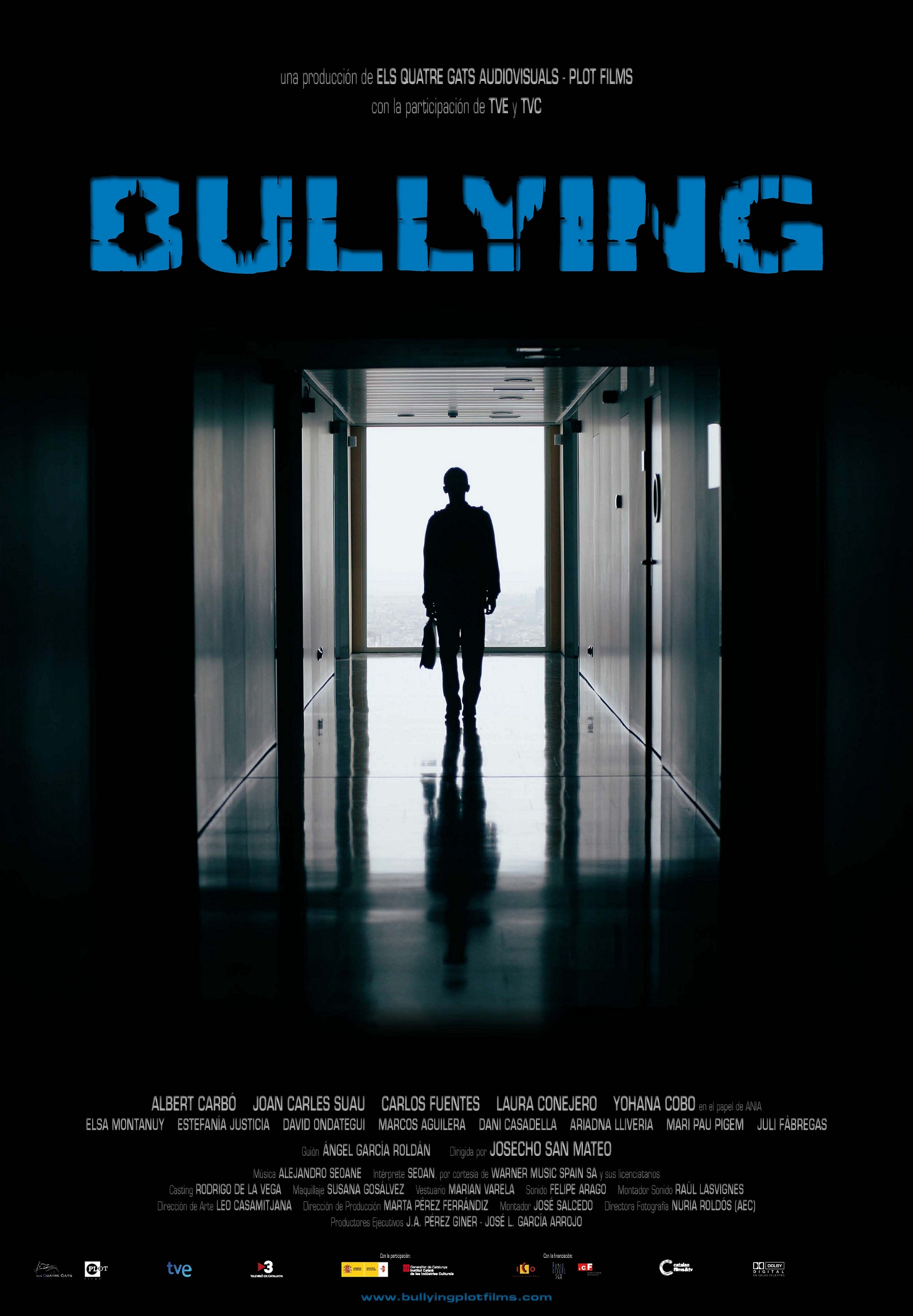 Digital Poster About Bullying
