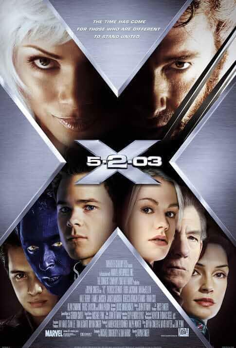 X-Men 2 : United | 2003 | Hindi + English | 1080p | 720p | BluRay
