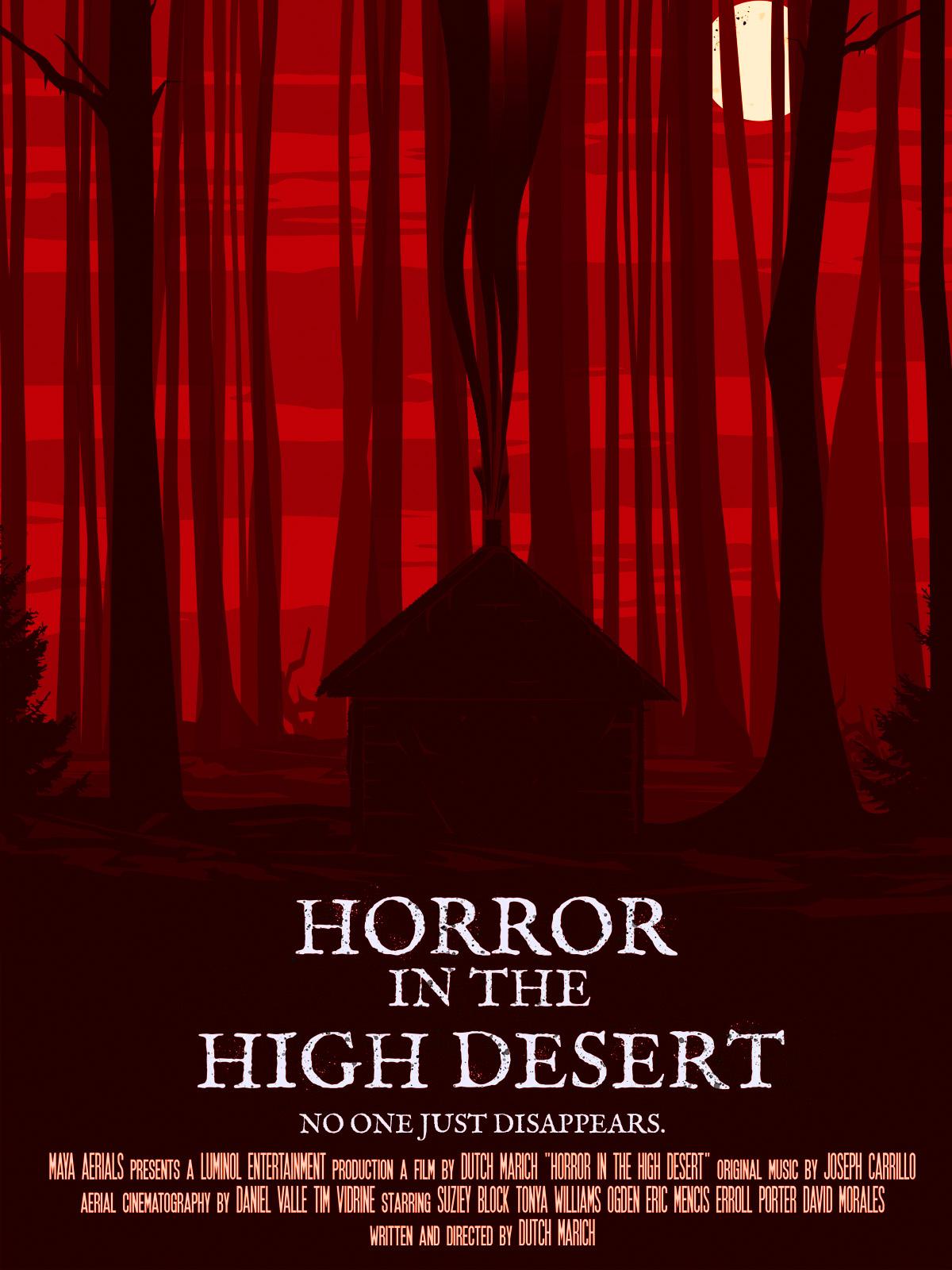 Horror in the High Desert (2021) Telugu Dubbed (Voice Over) & English [Dual Audio] WebRip 720p [1XBET]