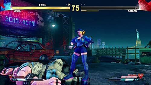 Street Fighter V: Arcade Edition: Lucia Introduction Video