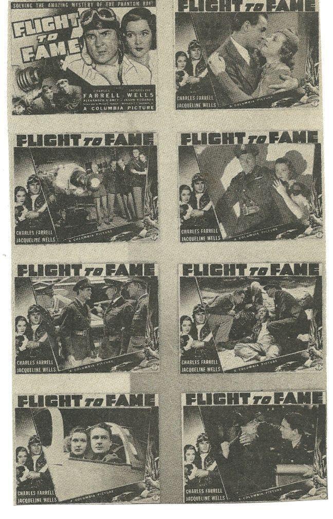 Julie Bishop, Charles D. Brown, Alexander D'Arcy, Charles Farrell, Addison Richards, Jason Robards Sr., and Hugh Sothern in Flight to Fame (1938)