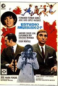 José Luis López Vázquez, Fernando Fernán Gómez, Esperanza Roy, and Amparo Soler Leal in Estudio amueblado 2.P. (1969)