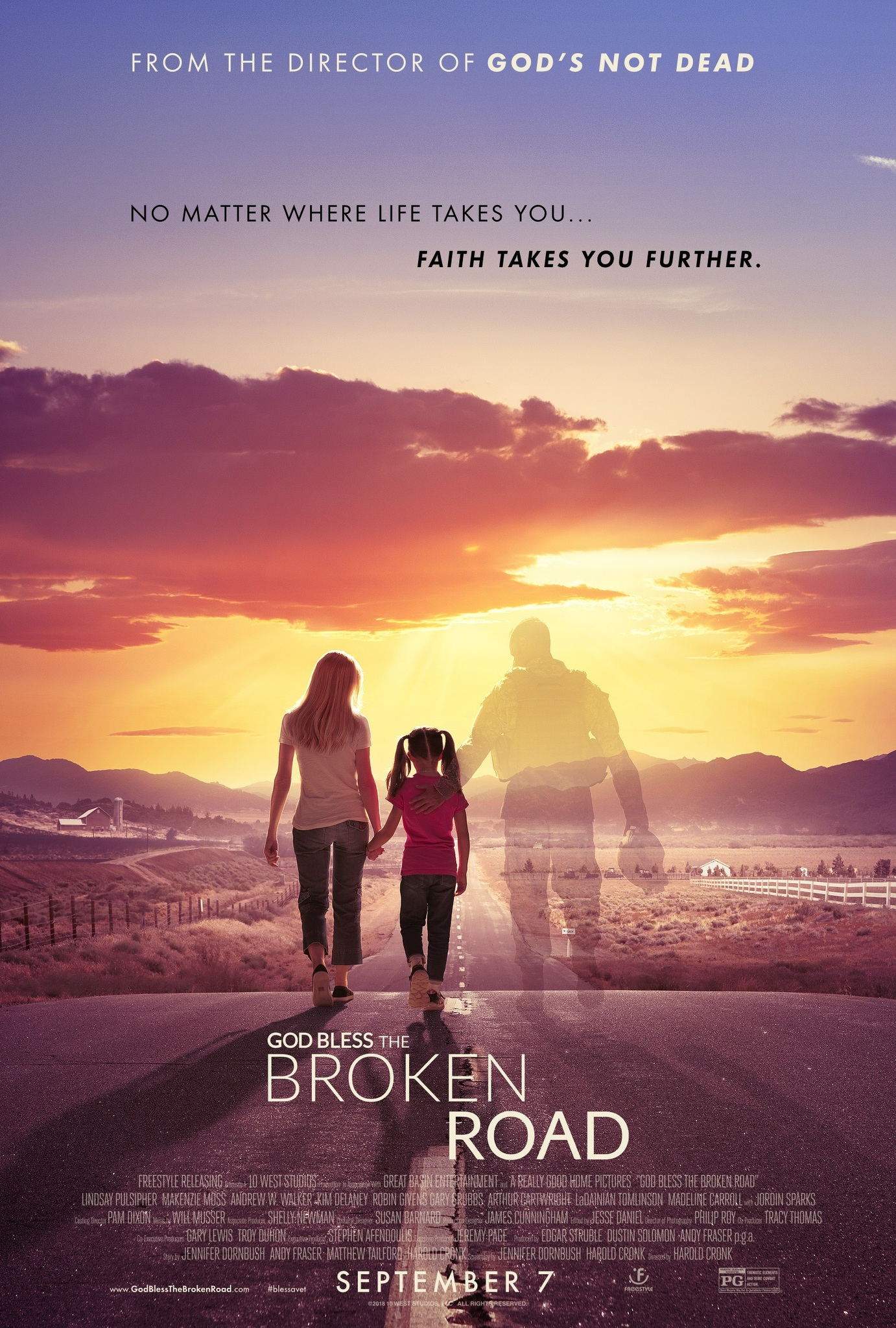 Image result for God Bless the Broken Road imdb
