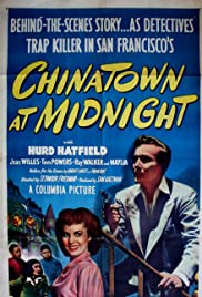 Chinatown at Midnight Poster