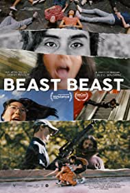 Will Madden, Shirley Chen, and Jose Angeles in Beast Beast (2020)
