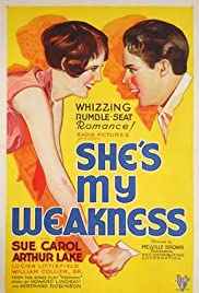 She's My Weakness Poster