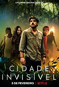 Alessandra Negrini, Marco Pigossi, Jéssica Córes, and Wesley Guimarães in Cidade Invisível (2021)