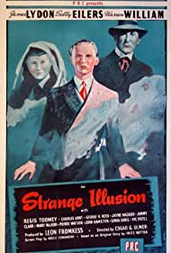 Sally Eilers, Jimmy Lydon, and Warren William in Strange Illusion (1945)