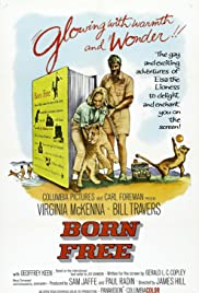 Born Free (1966) Poster - Movie Forum, Cast, Reviews