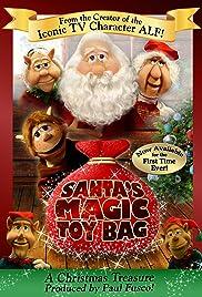 Santa's Magic Toy Bag Poster