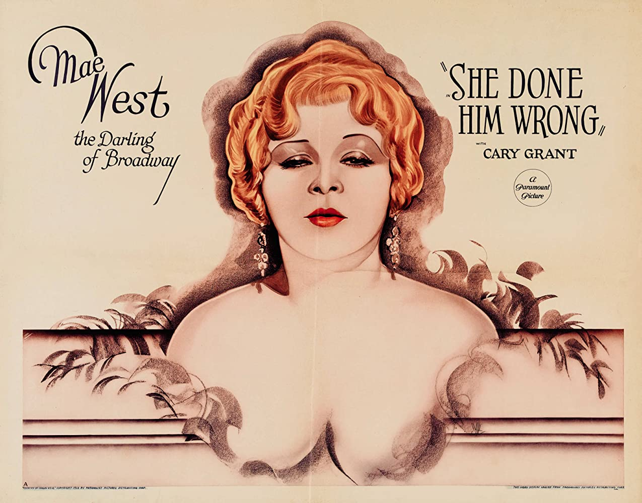 Mae West in She Done Him Wrong (1933)