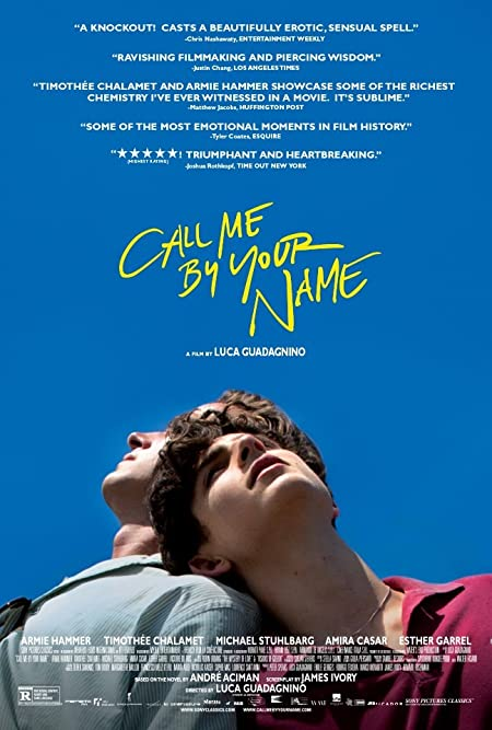 [R] Call Me by Your Name (2017) English  Blu-Ray - 480P | 720P - x264 - 300MB | 1.2GB - Download & Watch Online  Movie Poster - mlsbd