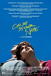 Call Me by Your Name Poster must watch movies