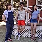 Mark Feuerstein, Marguerite Moreau, and Sarah Burns in Wet Hot American Summer: Ten Years Later (2017)