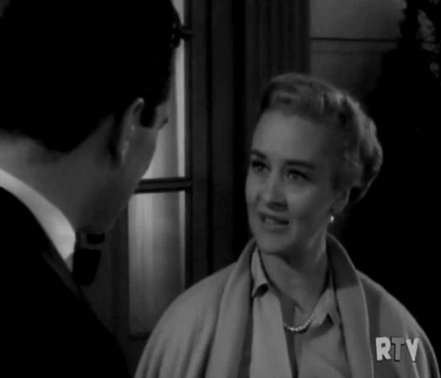 John Forsythe and Marian Marsh in Bachelor Father (1957)