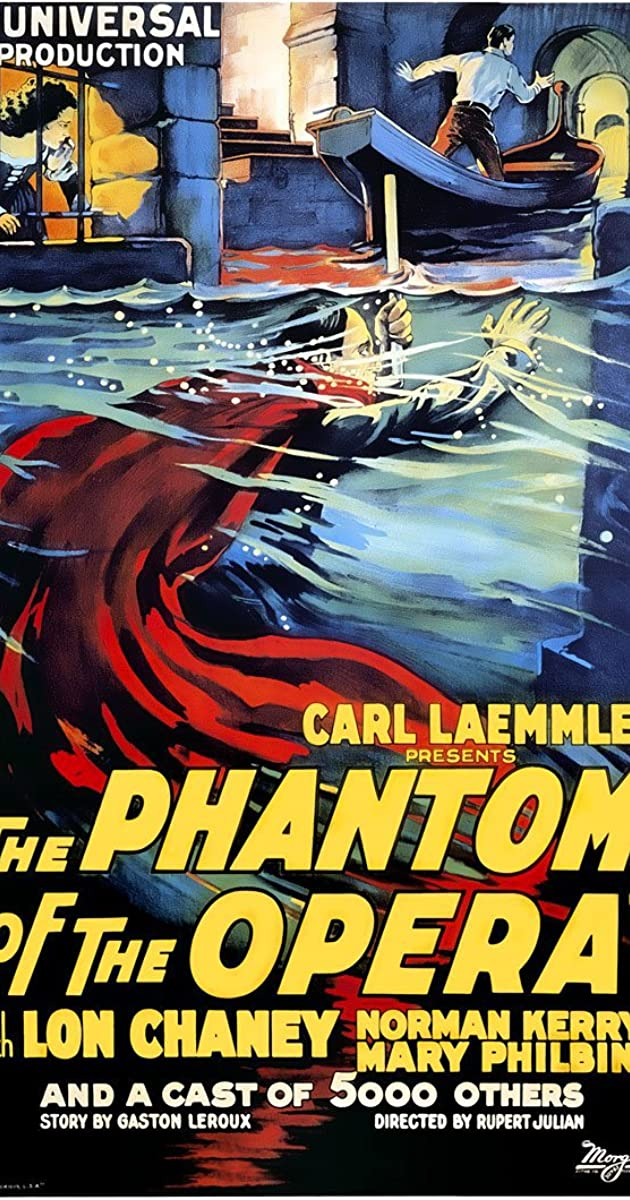 Watch Full HD Movie The Phantom of the Opera (1925)