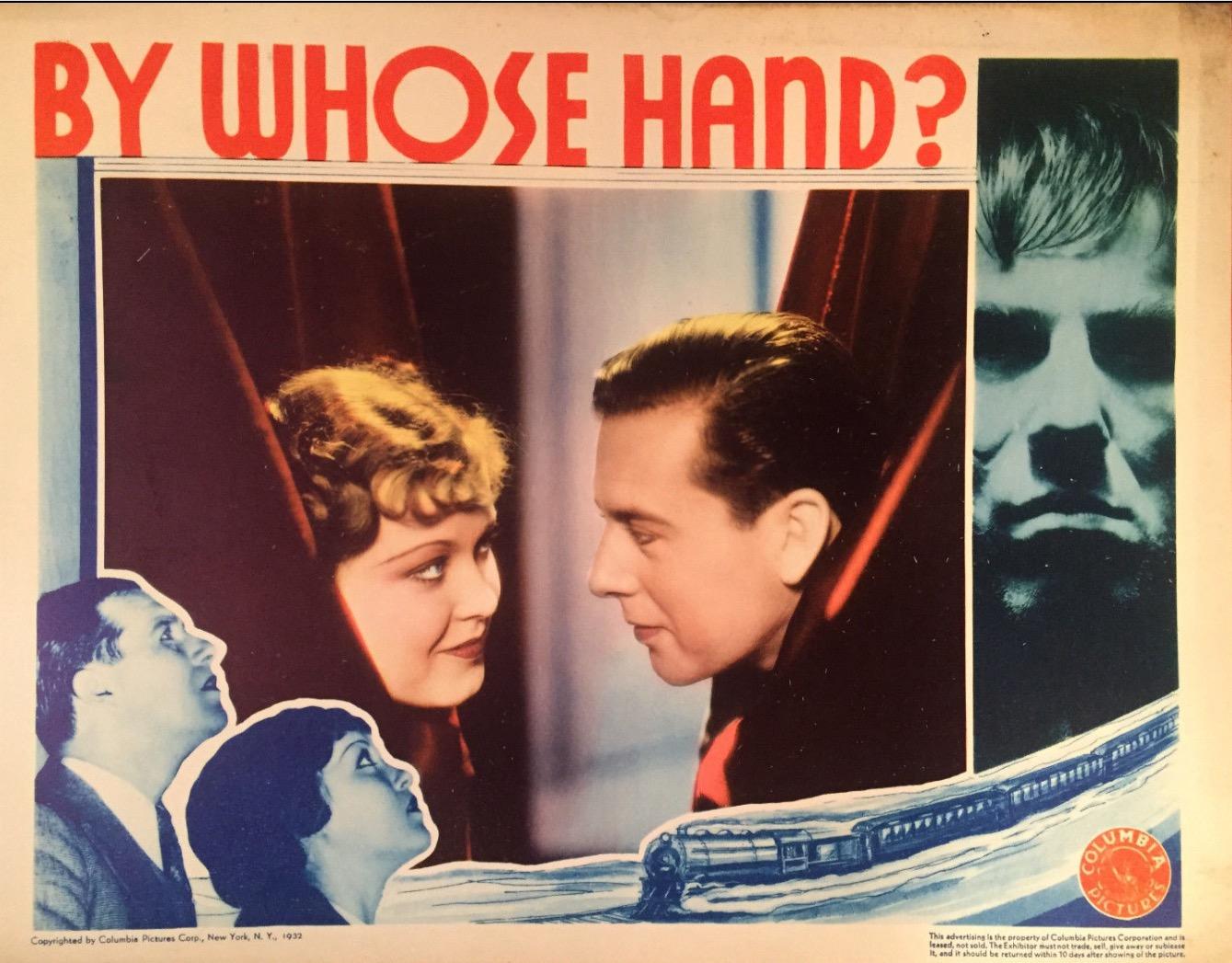 Ethel Kenyon, Ben Lyon, Nat Pendleton, and Barbara Weeks in By Whose Hand? (1932)