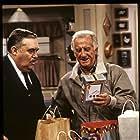 Christopher Hewett and Bob Uecker in Mr. Belvedere (1985)