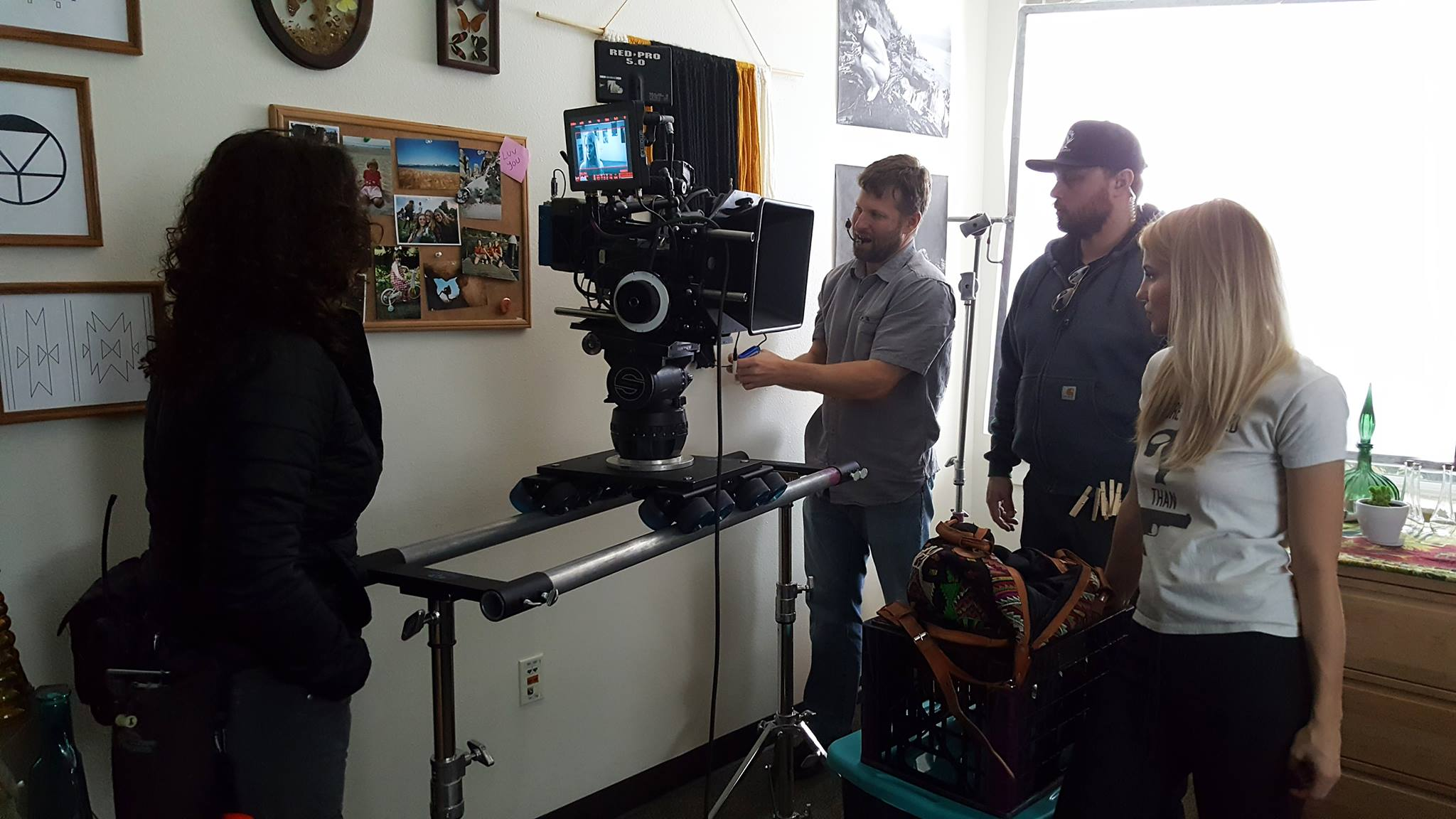 On set of A Haunting at Silver Falls: The Return