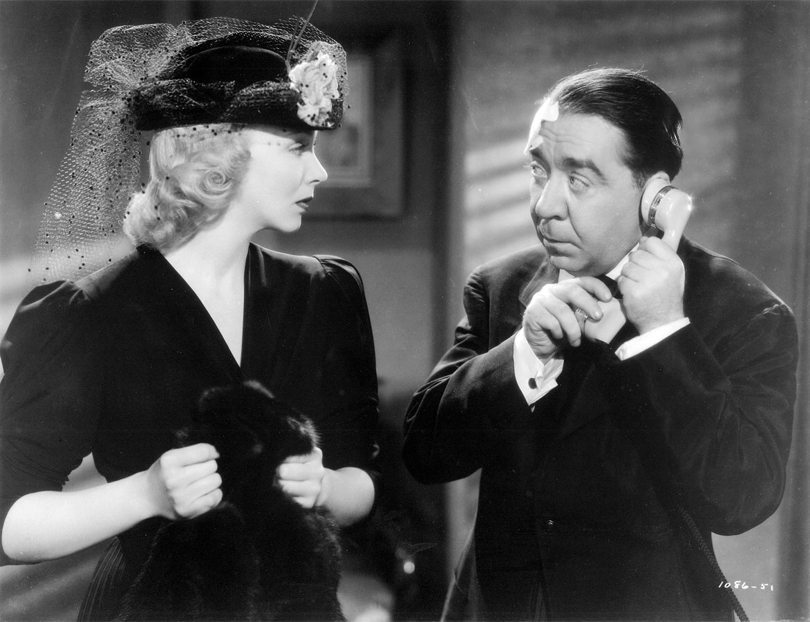 Virginia Bruce and Herbert Mundin in Society Lawyer (1939)