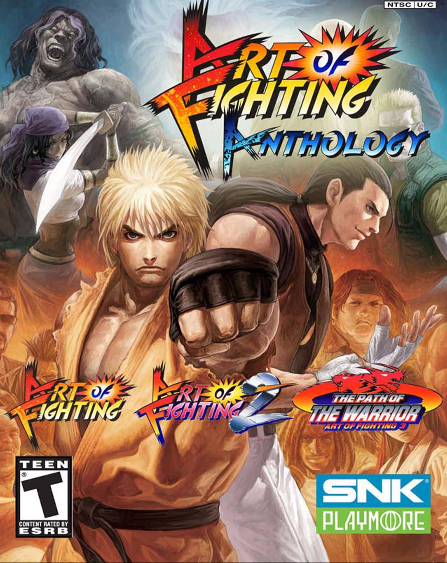 Art Of Fighting Anthology Video Game 2006 Imdb