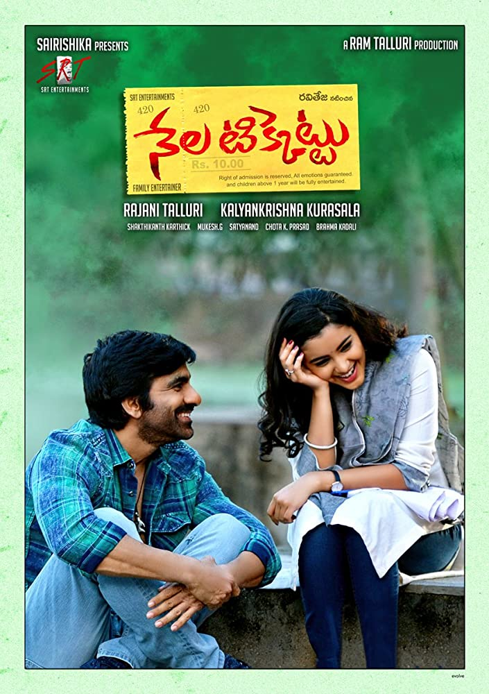 Nela Ticket (2018) Telugu Proper True HDTV-Rip 720p x264 -1.4GB