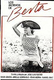 Berta's Motives Poster
