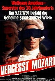Vergeßt Mozart Poster