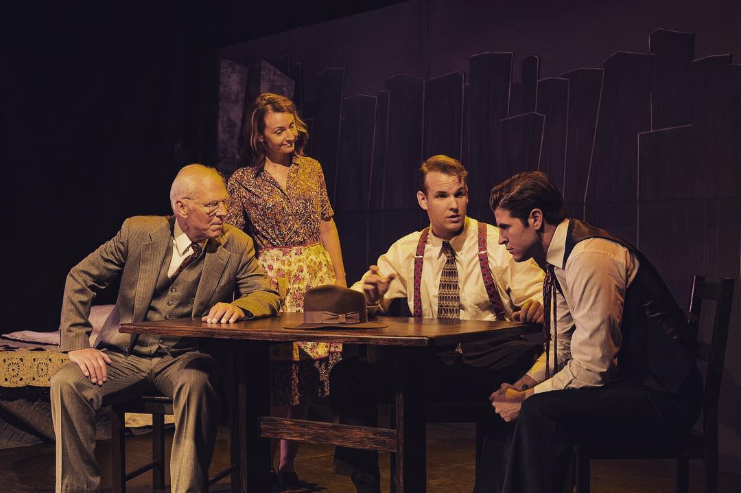 """Freddy Giorlando co-produced and played Biff Loman in Arthur Millers """"Death Of A Salesman"""" at The Secret Rose Theatre in Los Angeles, California."""
