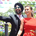 Akshay Kumar and Amy Jackson in Singh Is Bliing (2015)