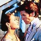 Pierce Brosnan and Julia Nickson in Around the World in 80 Days (1989)